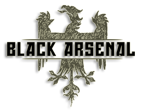 Black Arsenal Gun Store Logo